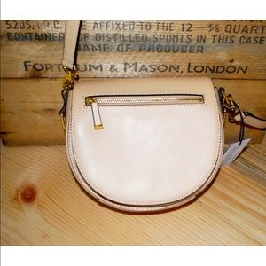 NWT Rebecca Minkoff Leather Astor Saddle Crossbody